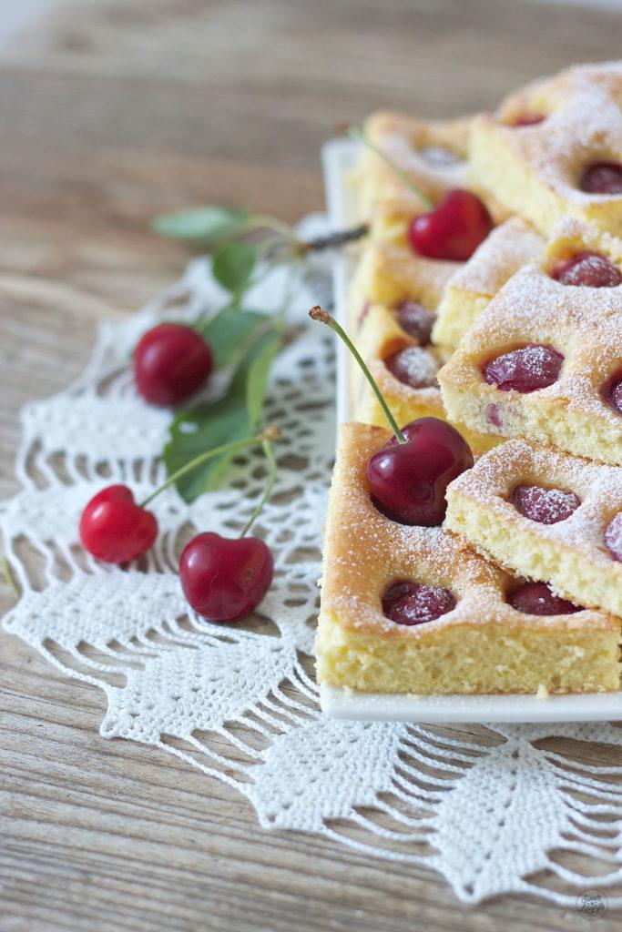 Kirschenkuchen Blechkuchen Rezept Sweets And Lifestyle