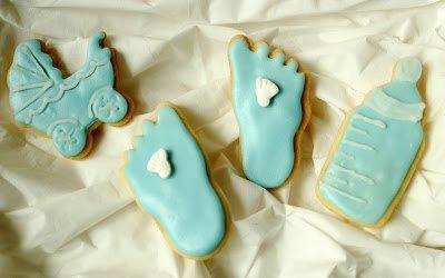 Kekse für eine Babyparty aus Mürbteig bei SweetsandLifestyle