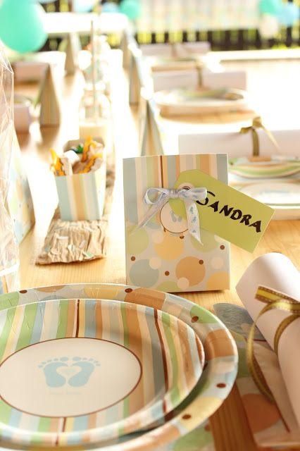 Baby Shower Tischkärtchen bei SweetsandLifestyle