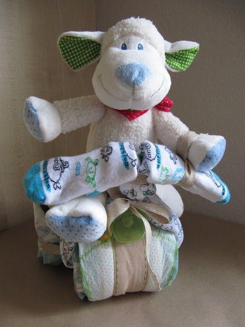 Windeldreirad für die Babyshower bei SweetsandLifestyle