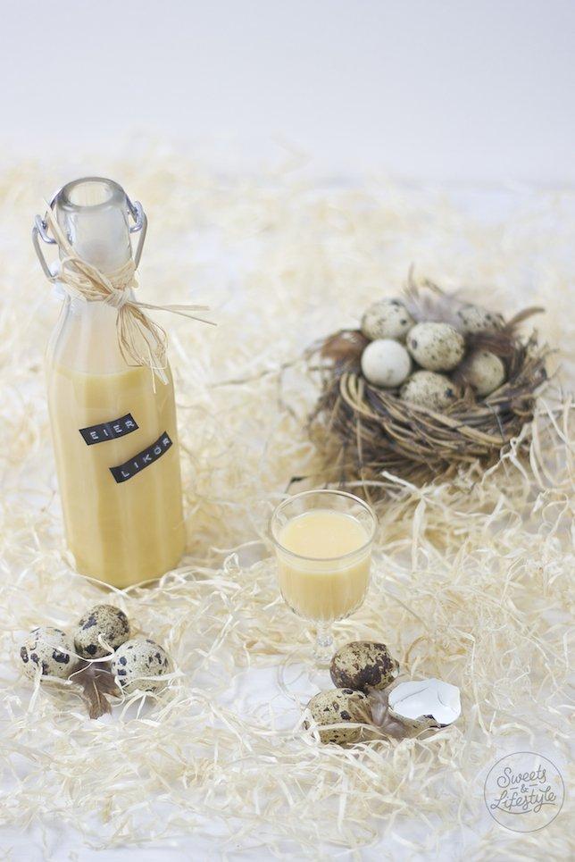 Cremiger Selbst gemachter Eierlikoer fuer Ostern von Sweets and Lifestyle