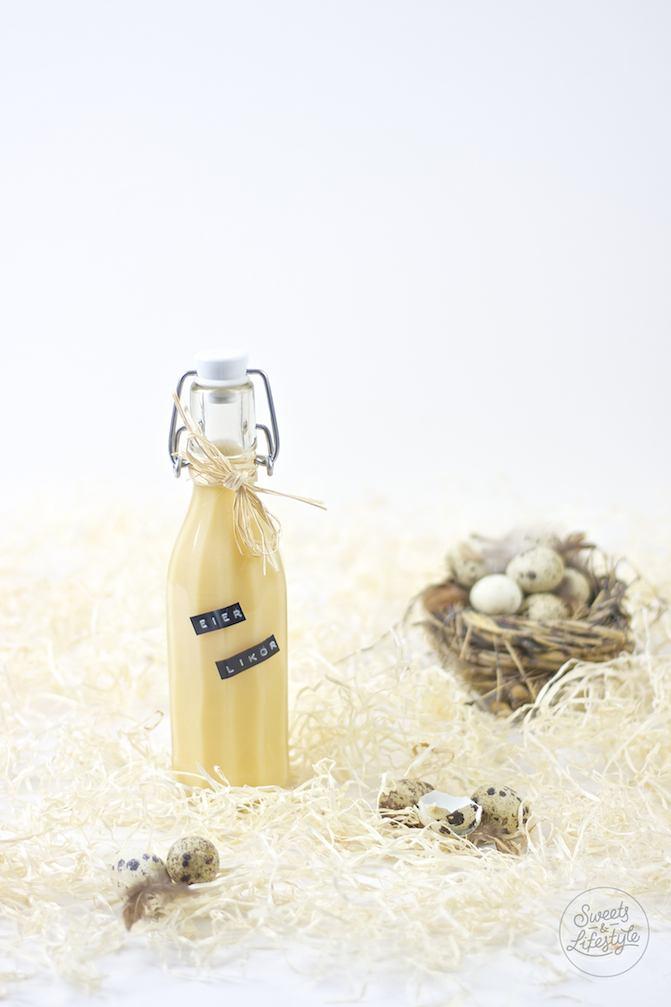 Leckerer selbst gemachter Eierlikoer nach einem Rezept von Sweets and Lifestyle