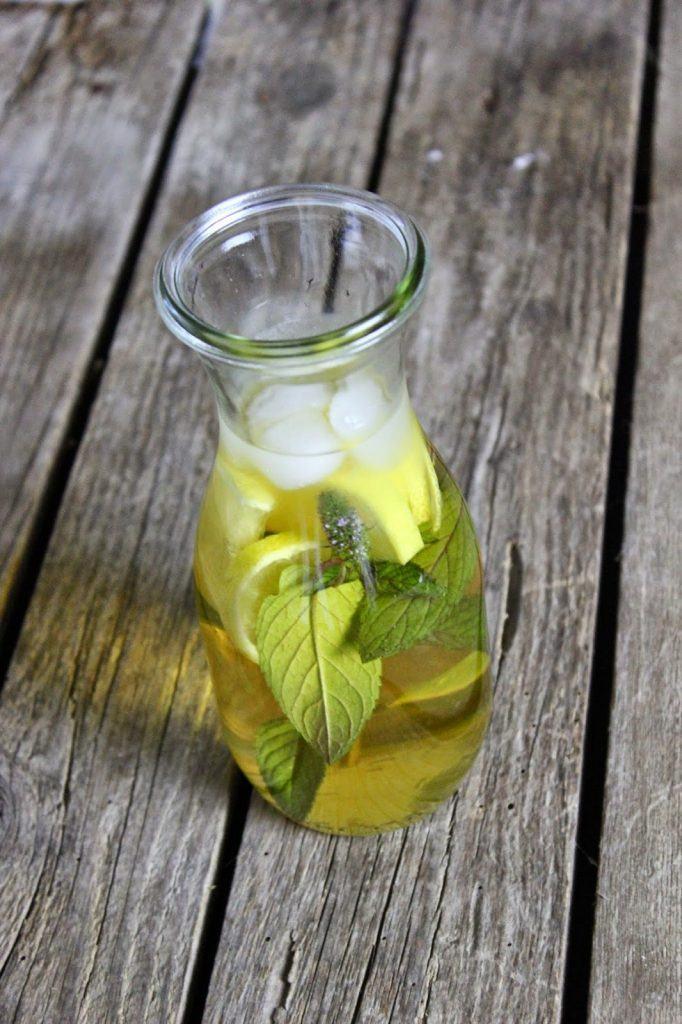 Der perfekte Sommerdrink, kalt aufgegossener Tee, Eistee bei SweetsandLifestyle