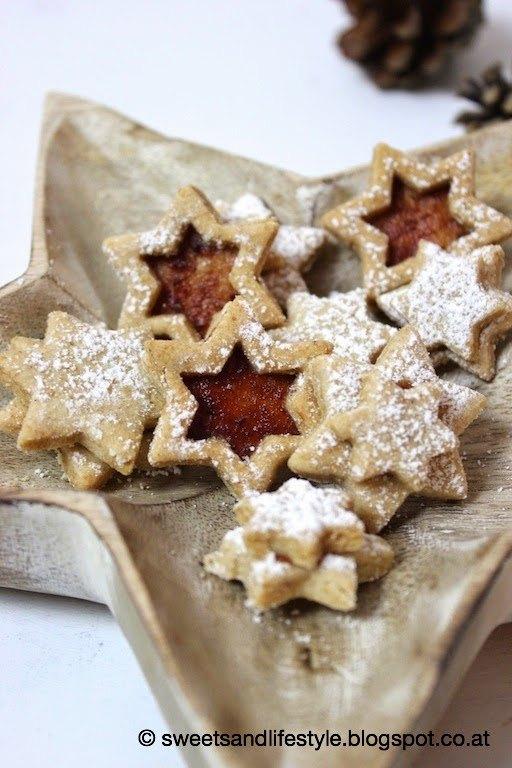 Veganes Lieblingsweihnachtsplätzchen-Rezept, Linzer Kekse mit Marmelade von Sweets and Lifestyle