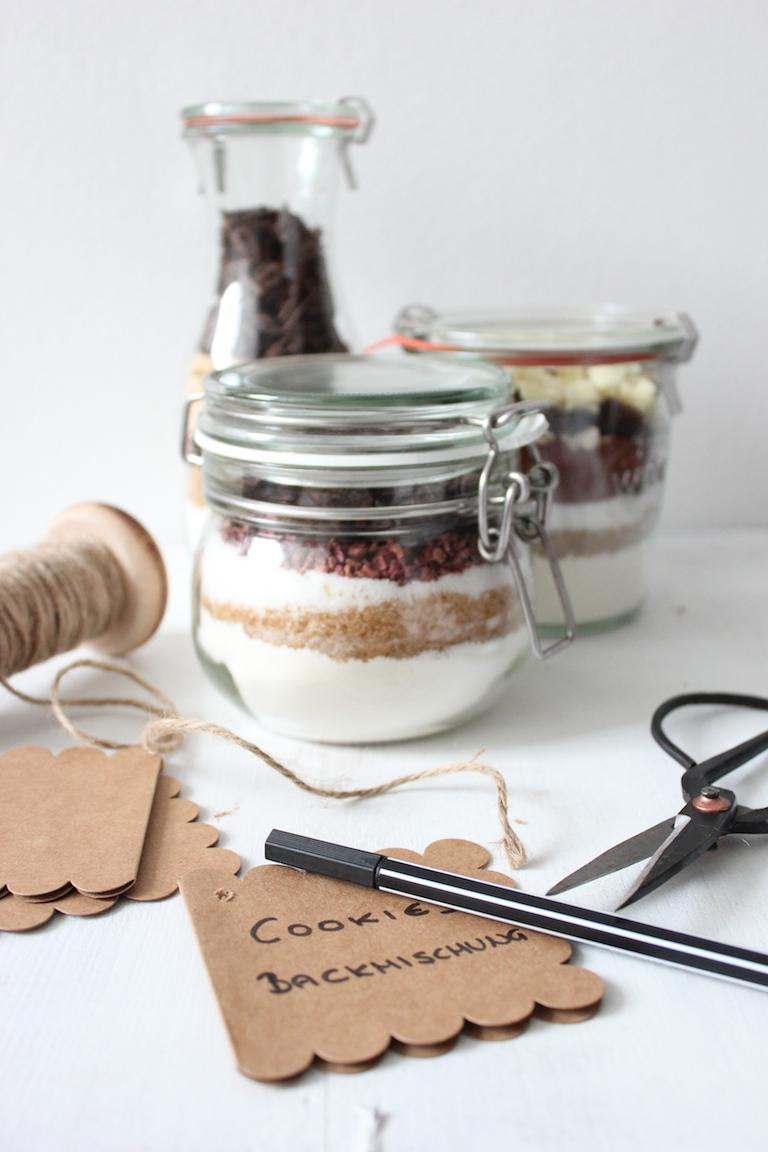 Diy Weihnachtsgeschenke Teil 3 Backmischungen Im Glas Sweets