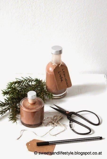 Selbstgemachter Lebkuchenlikör, das perfekte Last Minute Weihnachtsgeschenk von Sweets and Lifestyle