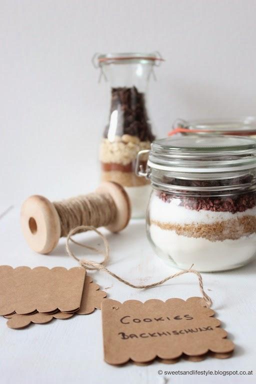 Backmischung für Cookies mit Schokolade und Himbeeren von Sweets and Lifestyle