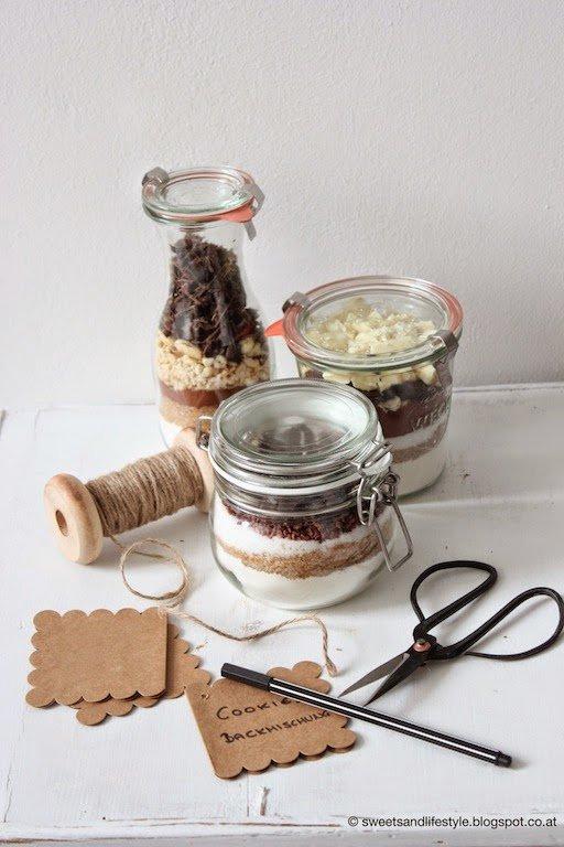 Cookies Backmischungen als Last Minute Geschenk von Sweets and Lifestyle