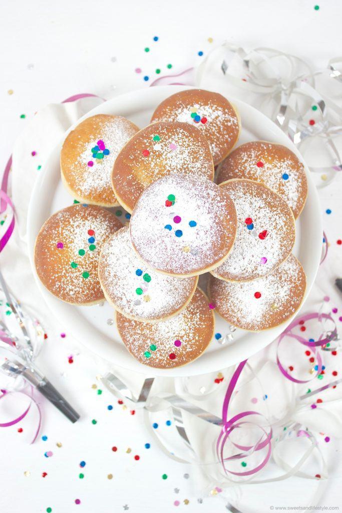 Frische Faschingskrapfen selbstgemacht von Sweets and Lifestyle