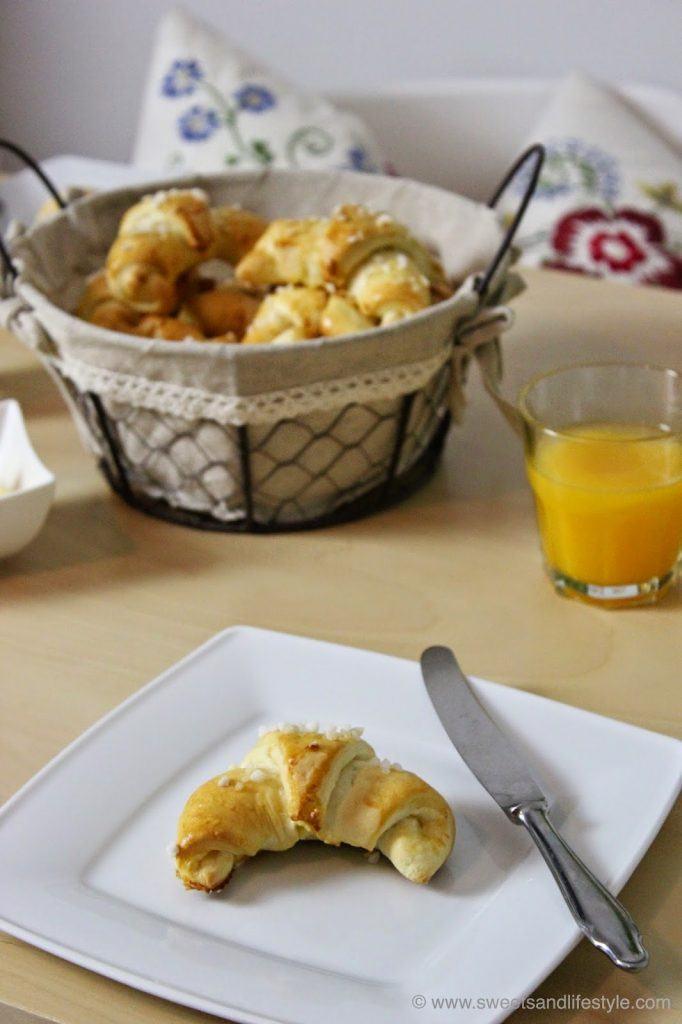 Mini-Briochekipferl für das Frühstück am Wochenende von Sweets and Lifestyle