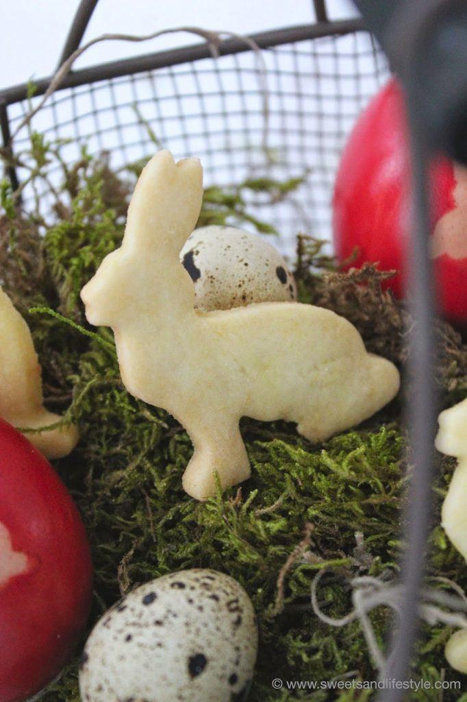 Selbst gemachte Ostergeschenke, Mürbteigkekese von Sweets and Lifestyle