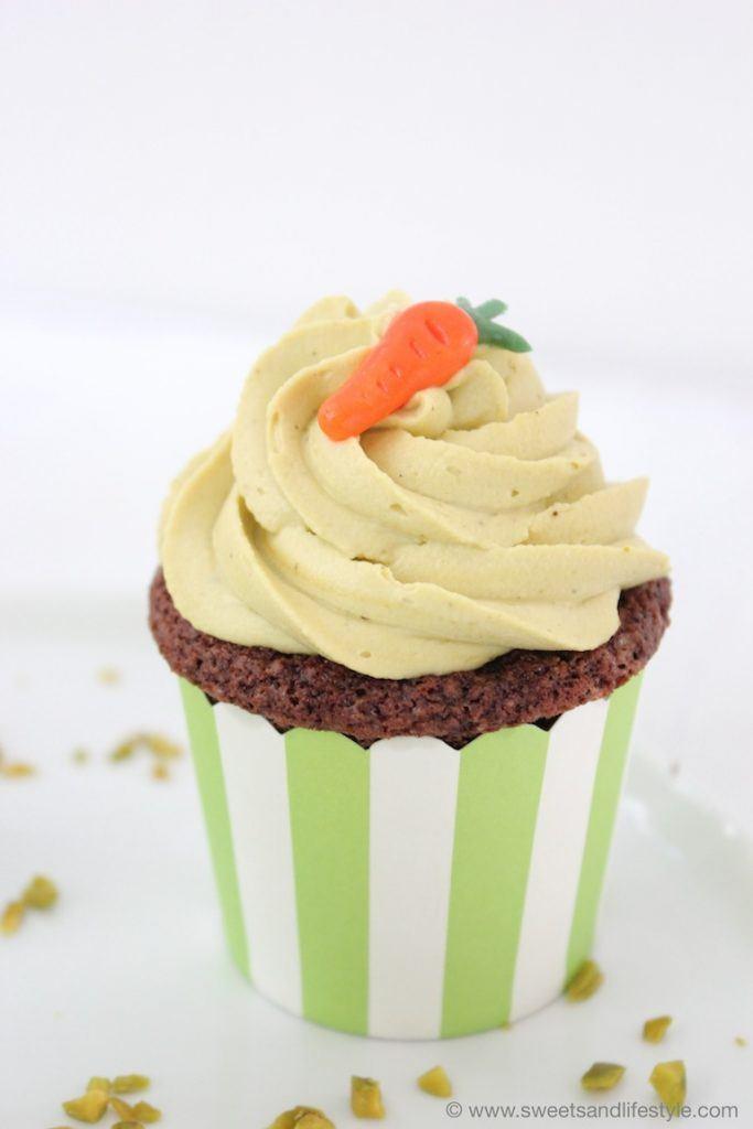 Pistaziencupcakes für Ostern von Sweets and Lifestyle