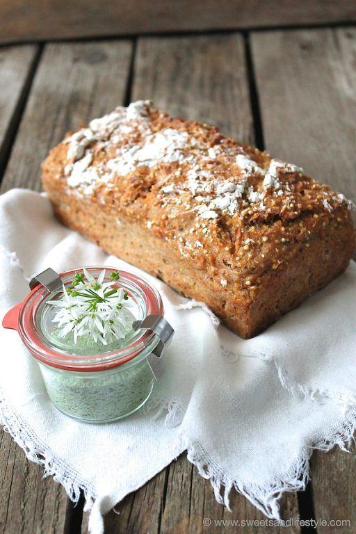Bärlauchsalz und Karotten-Dinkelbrot als Mitbringsel von Sweets and Lifestyle