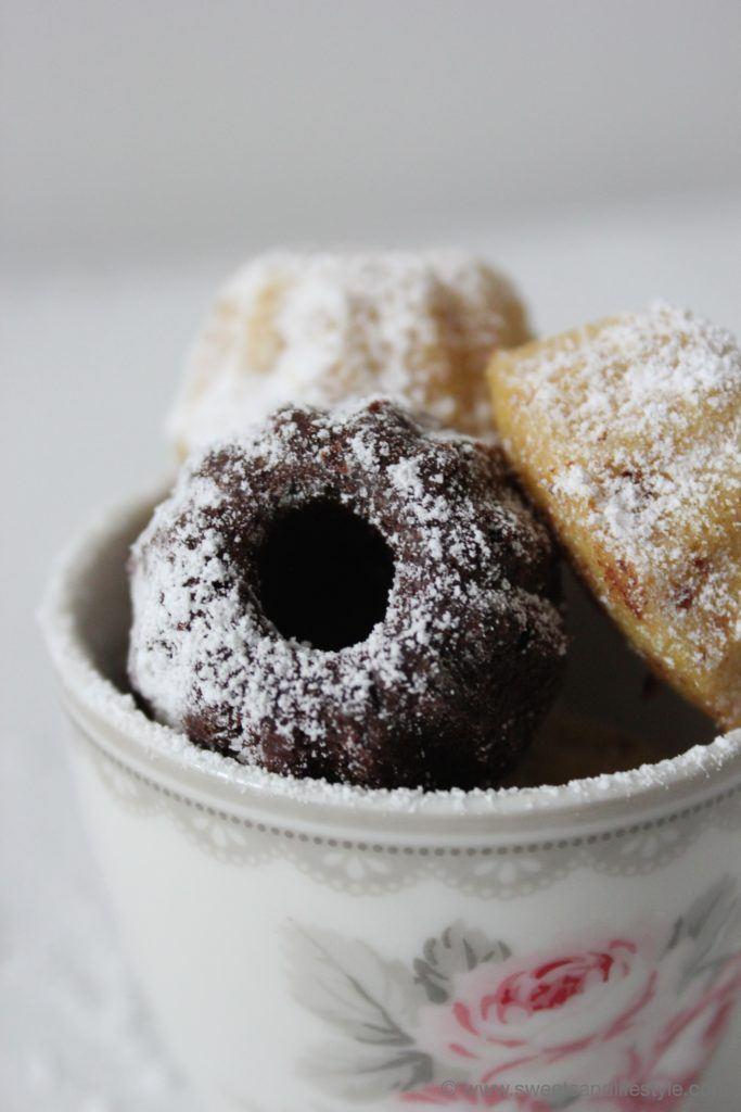 Saftige Schoko Minigugls und Vanille Minigugls von Sweets and Lifestyle