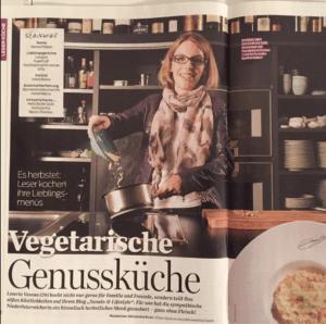 Verena Pelikan Autorin vom Blog Sweets and Lifestyle kreiert ein leckeres Herbstgericht für das Cooking Magazin
