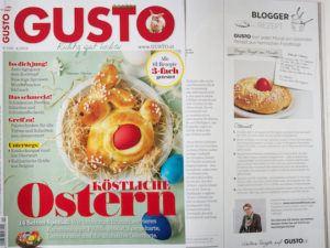Das Brioche Osternest Rezept von Verena Pelikan von Sweets and Lifestyle im Gusto Magazin