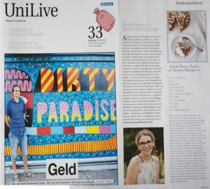 Verena Pelikan Autorin des Blogs Sweets and Lifestyle im UniLive Magazin der Presse