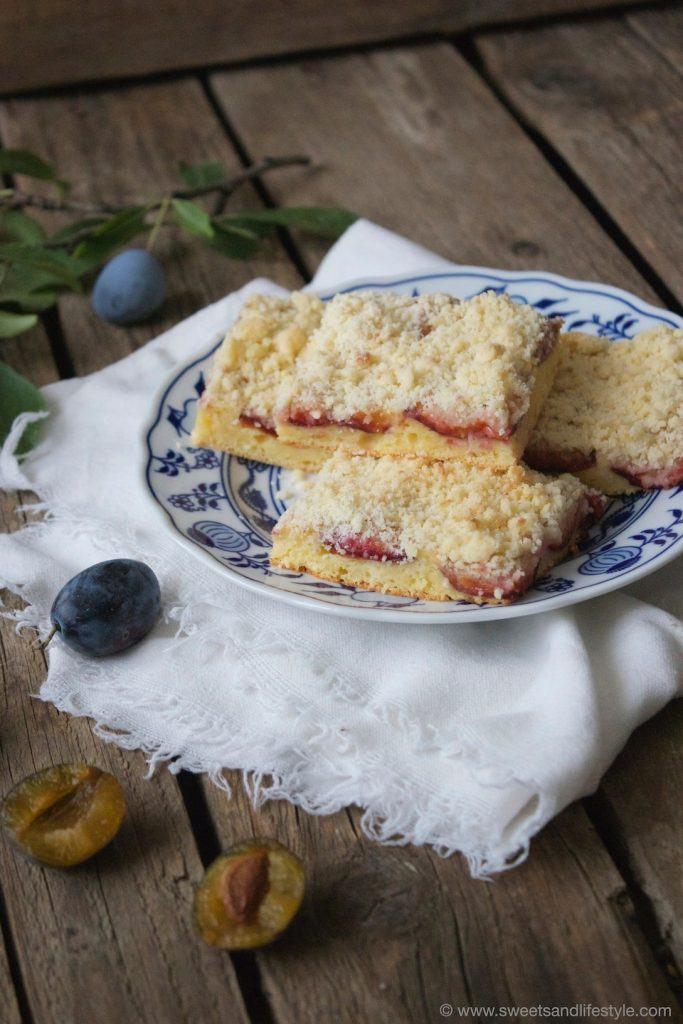 Saftiger Zwetschgenkuchen mit Streuseln von Sweets and Lifestyle