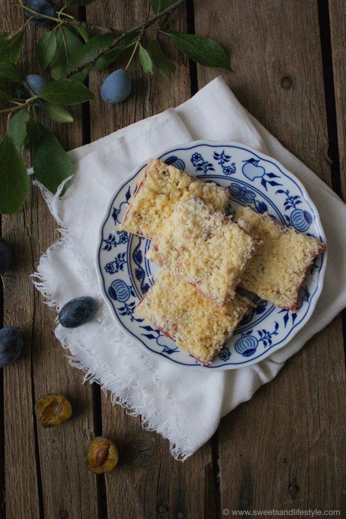 Saftiger Zwetschgenkuchen mit Streuseln läutet den Herbst ein bei Sweets and Lifestyle