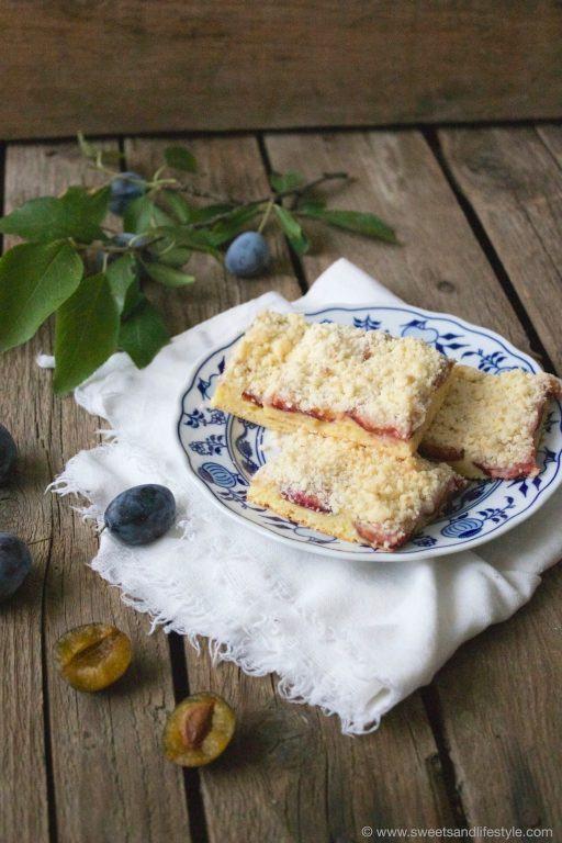 Zwetschgenkuchen mit Streuseln nach einem Rezept von Sweets and Lifestyle