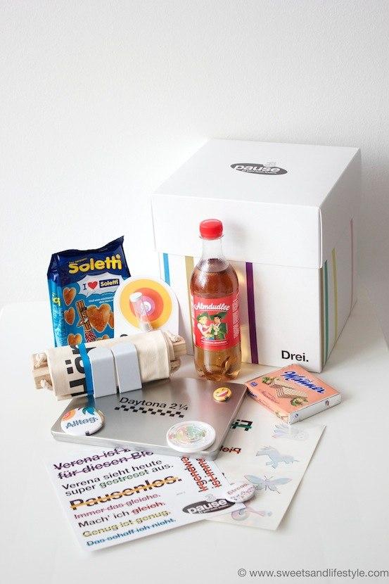 #BloggerPause mit der Drei Pausebox Schnarchnase bei Sweets and Lifestyle