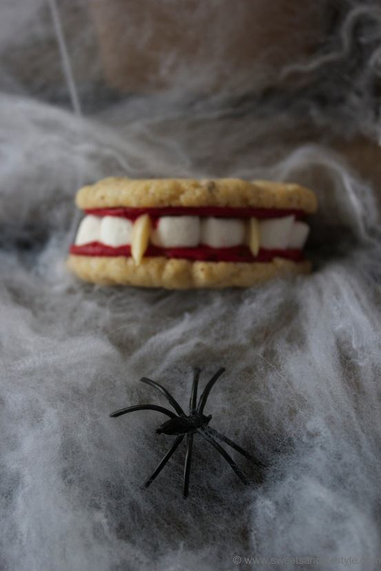 Halloween Gebiss Cookies für die Party am 31.10. von Sweets and Lifestyle