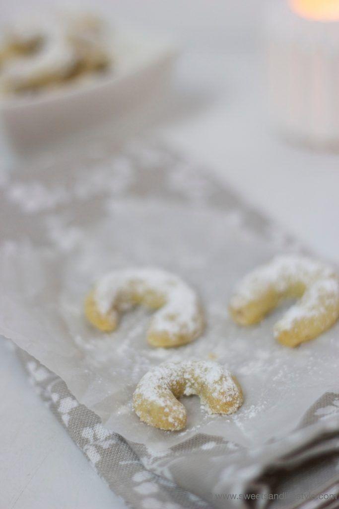 Selbst gemachte Vanillekipferl nach einem Familienrezept von Sweets and Lifestyle