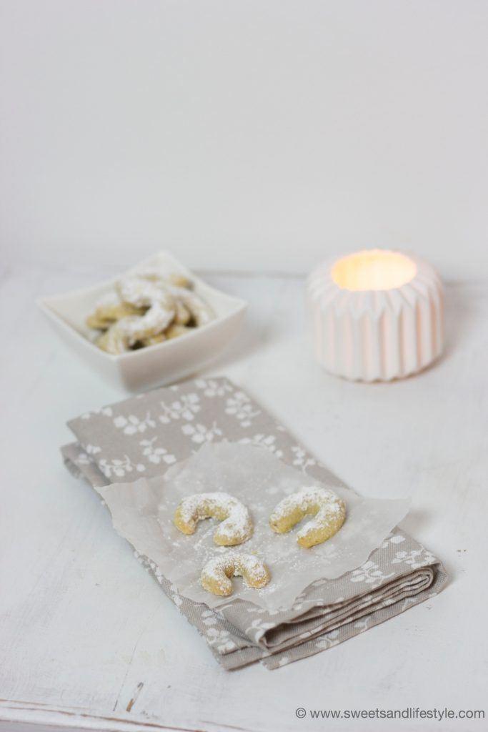 Köstliche Vanillekipferl nach einem alten Familienrezept bei Sweets and Lifestyle