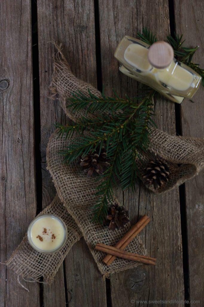 Selbst gemachter weihnachtlicher Eierlikör von Sweets and Lifestyle