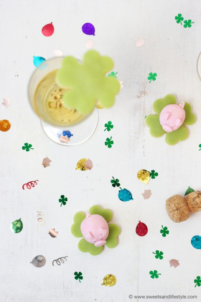 Selbst gemachte Glücksbringer für Silvester von Sweets and Lifestyle