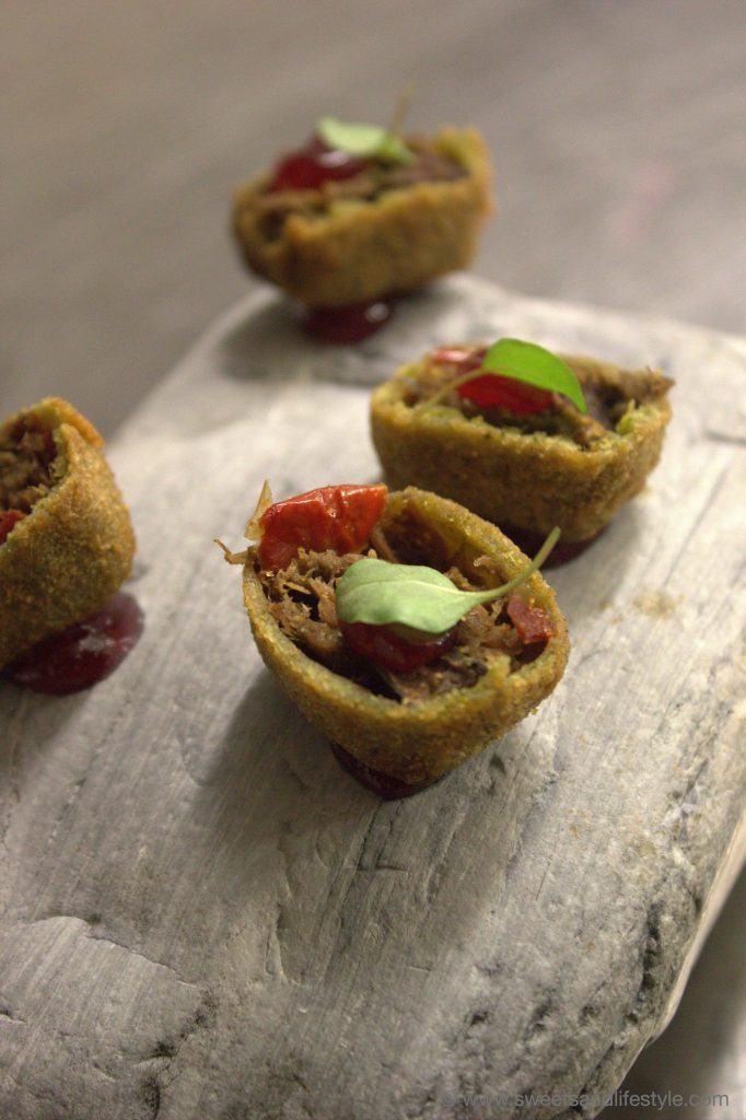 Gruß aus der Küche beim Gourmetabend auf der Gamskogelhütte am Katschberg von Sweets and Lifestyle
