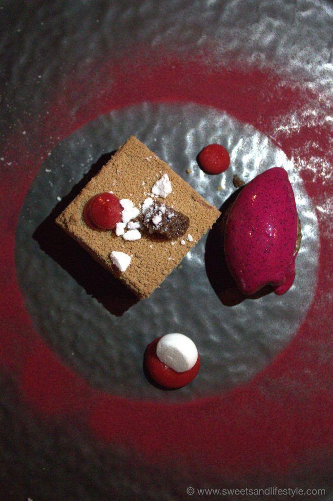 Nachspeise beim Gourmetabend auf der Gamskogelhütte am Katschberg von Sweets and Lifestyle