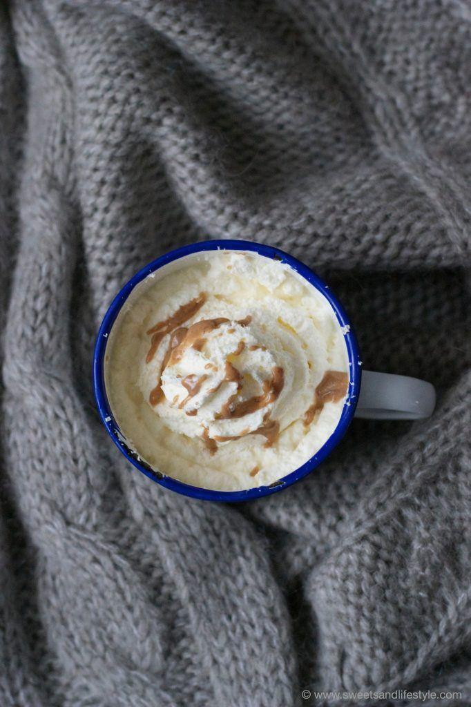 Perfekt wenn es klirrkalt ist ist die heiße Milch mit Mandel-Nougat von Sweets and Lifestyle