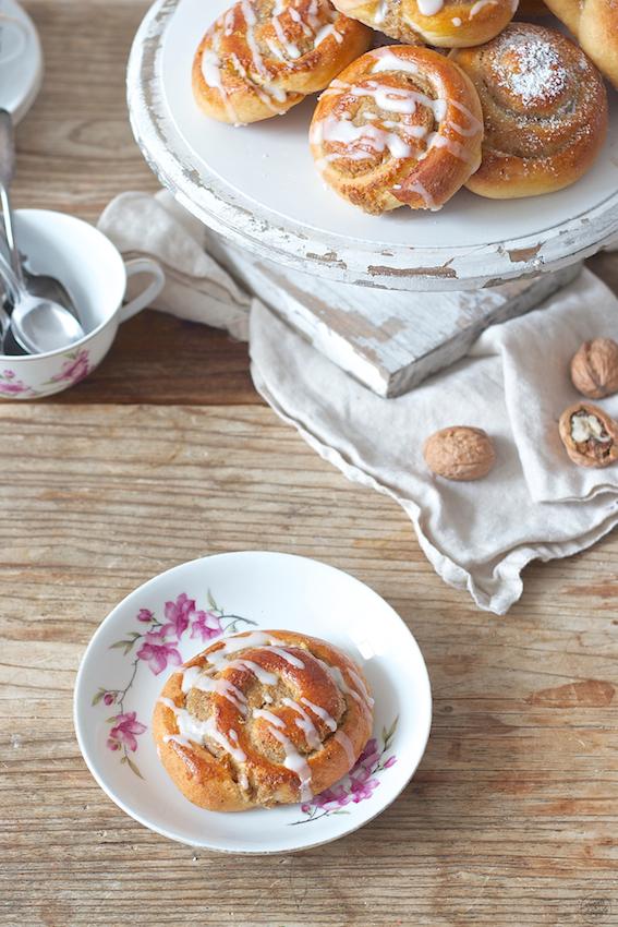 Leckere Nussschnecken aus Germteig von Sweets & Lifestyle