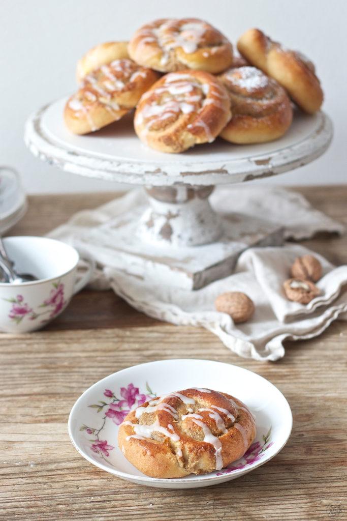 Köstliche Nussschnecken mit Zuckerguss von Sweets & Lifestyle