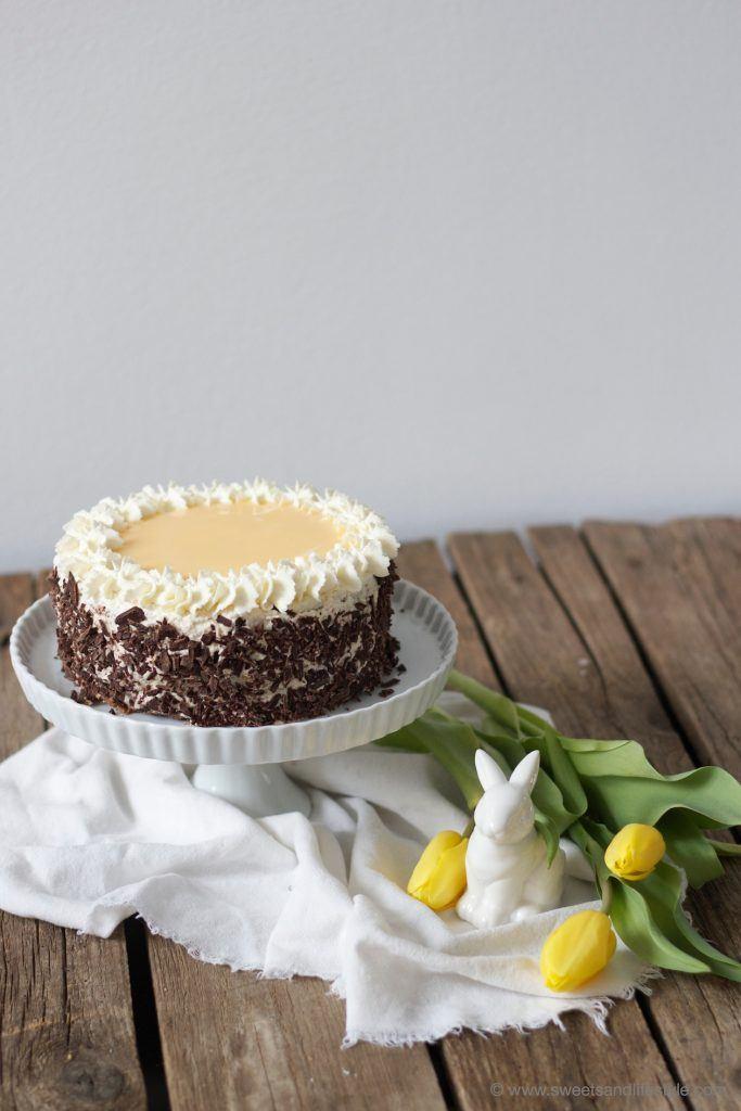 Selbst gemachte, saftige Eierlikörtorte für Ostern von Sweets and Lifestyle