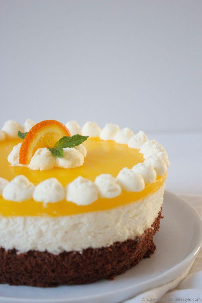 schoko topfen orangen torte sweets lifestyle. Black Bedroom Furniture Sets. Home Design Ideas