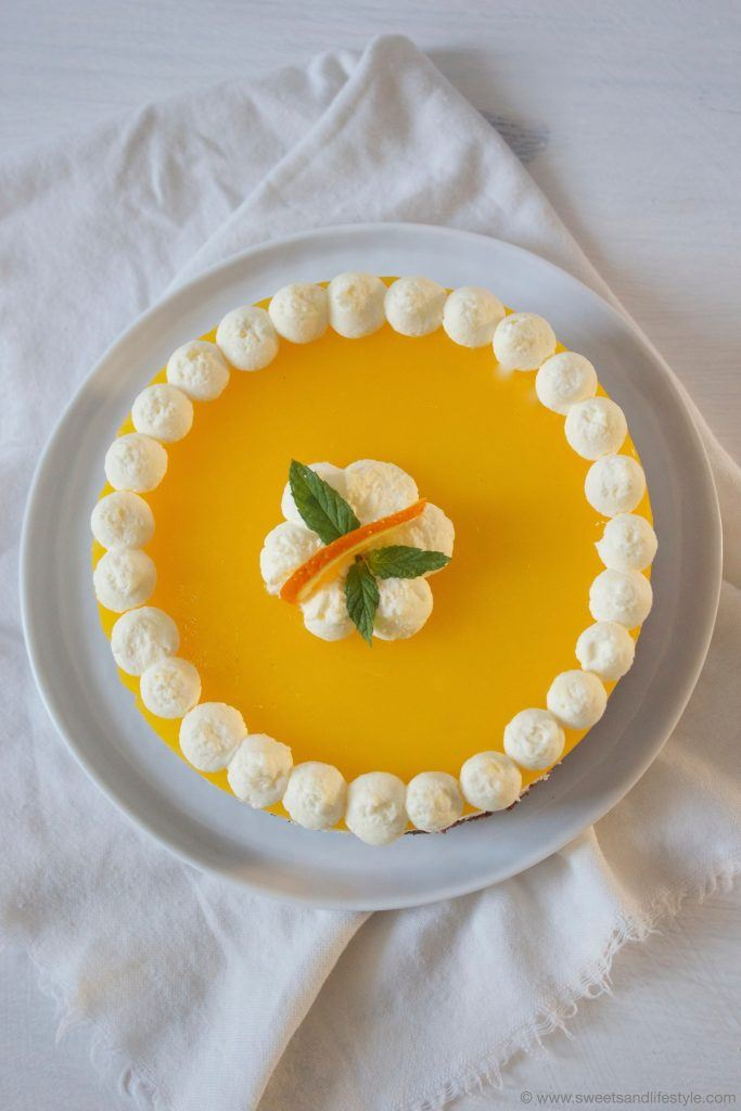 Schoko Topfen Orangen Torte Rezept von Sweets and Lifestyle