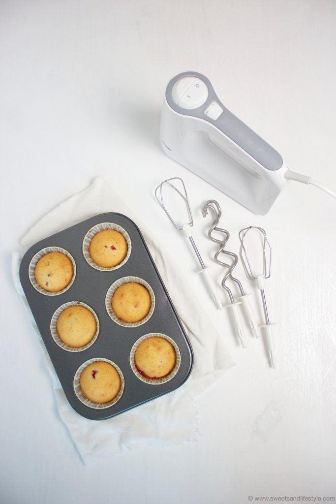 Cupcakes gemacht mit Braun MulitMix 3 Type 4644