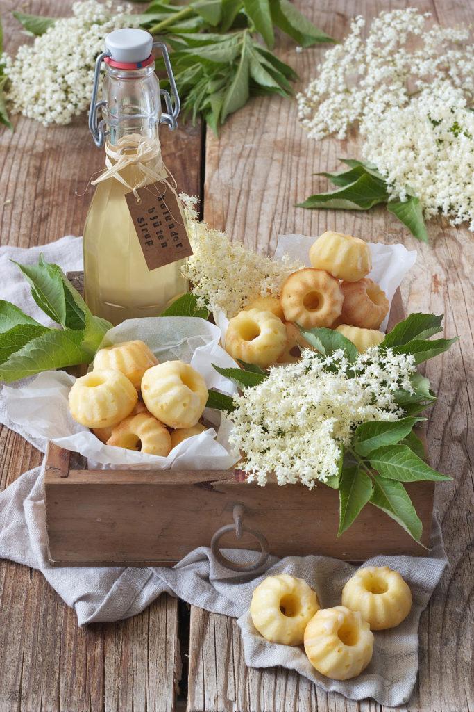 Holunderblüten Mini Gugl Rezept von Sweets & Lifestyle®