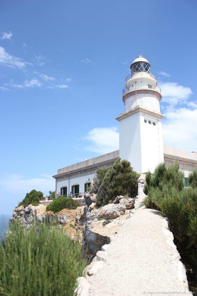 Leuchtturm auf Cap Formender, dem nördlichsten Punkt auf Mallorca