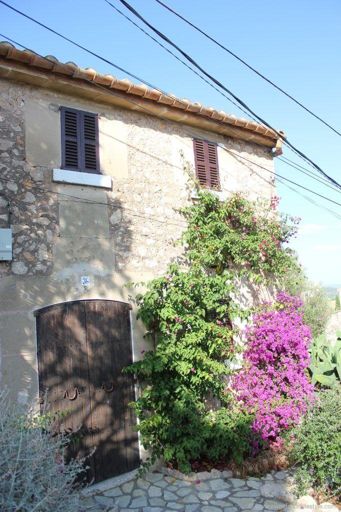 Mallorquinisches Haus am Kalvarienberg in Pollensa auf Mallorca