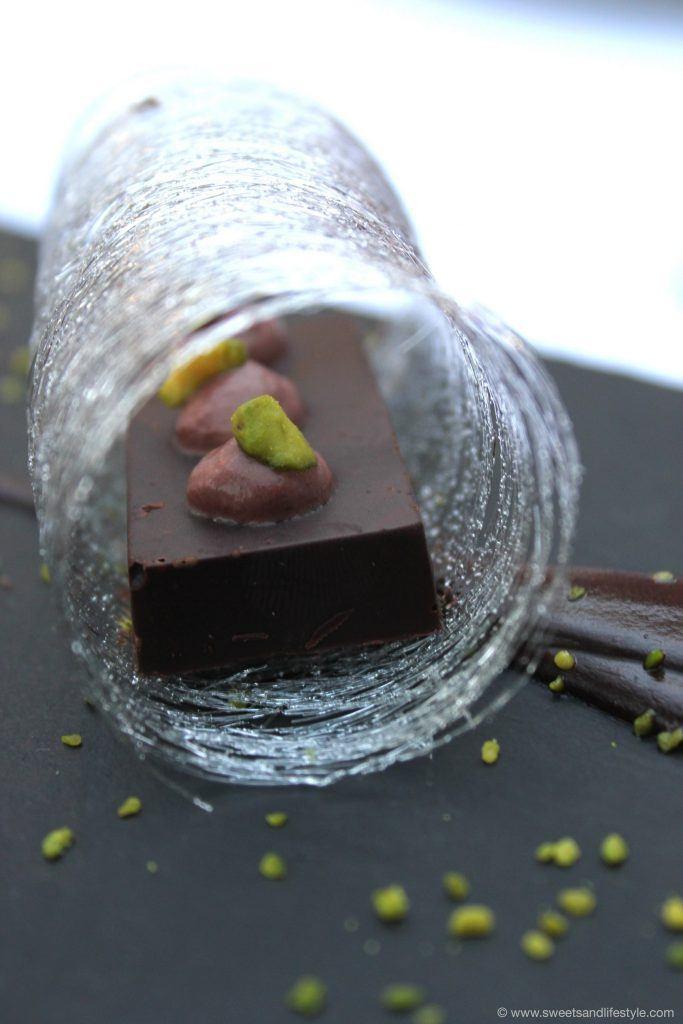 """Nachspeise """"Schokolade Torrent"""" im Restaurant Es Torrent in Son Carrio auf Mallorca"""