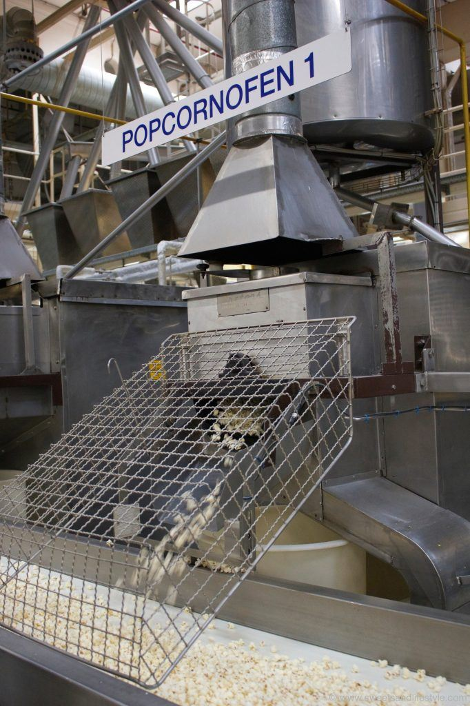 Popcornherstellung im Kelly Werk in Wien