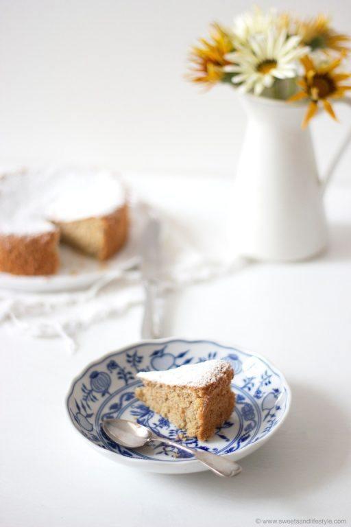 Saftiger Mallorquinischer Mandelkuchen nach einem Rezept von Sweets and Lifestyle_Titelbild
