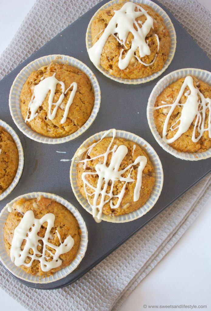 Kürbis Muffins mit weißer Schoko von Sweets and Lifestyle