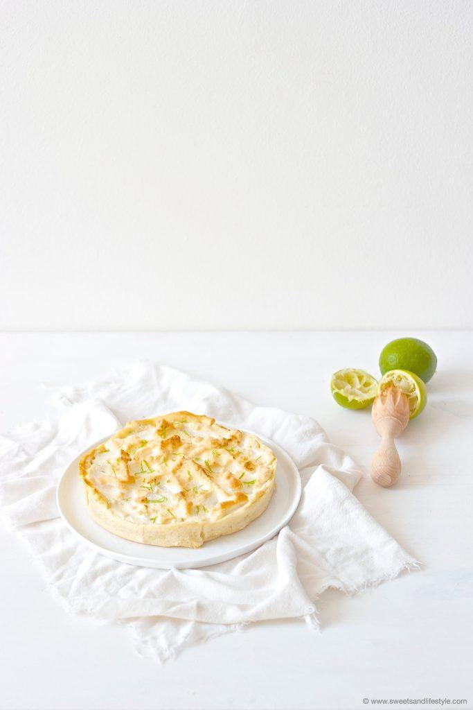 Pie de Limon, eine typische, sehr süße, peruanische Süßspeise nach einem Rezept von Sweets and Lifestyle
