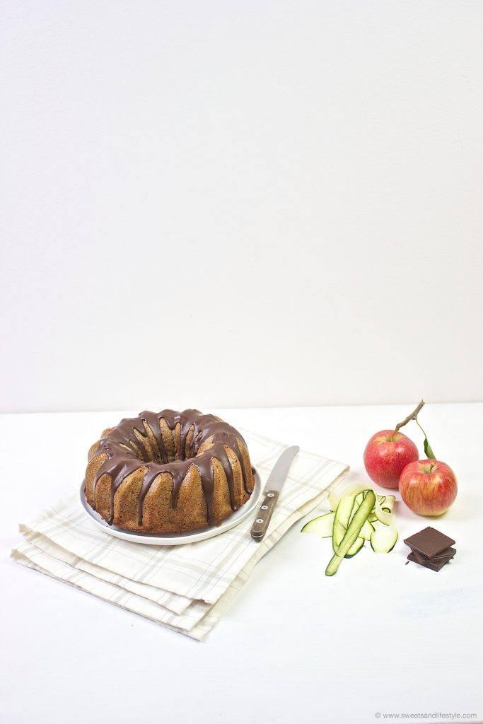Saftiger Zucchini Gugelhupf nach einem Rezept von Sweets and Lifestyle