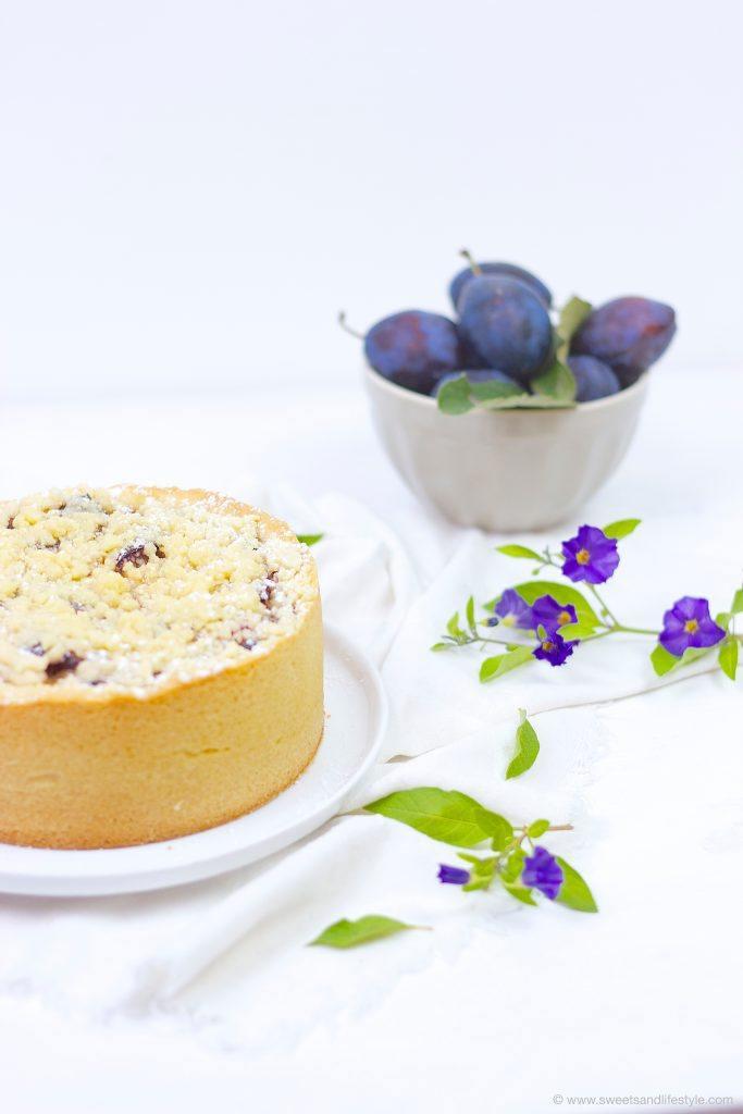 Zwetschgen Mohn Torte mit Mürbteig und Streuseln, perfekt für die Kaffeejause, von Sweets and Lifestyle