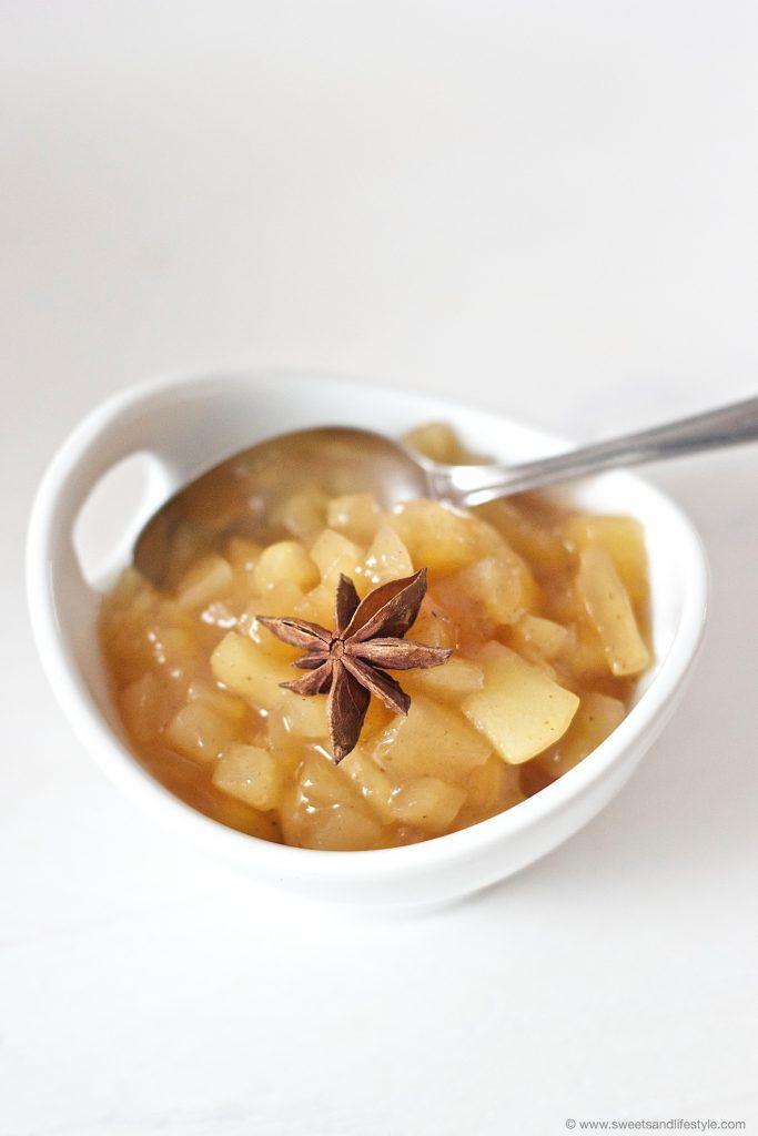 Leckere Apfelfülle für die Apfeltaschen aus Blätterteig von Sweets and Lifestyle